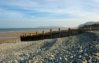 Penmaenmawr beach with Great Orme in the background