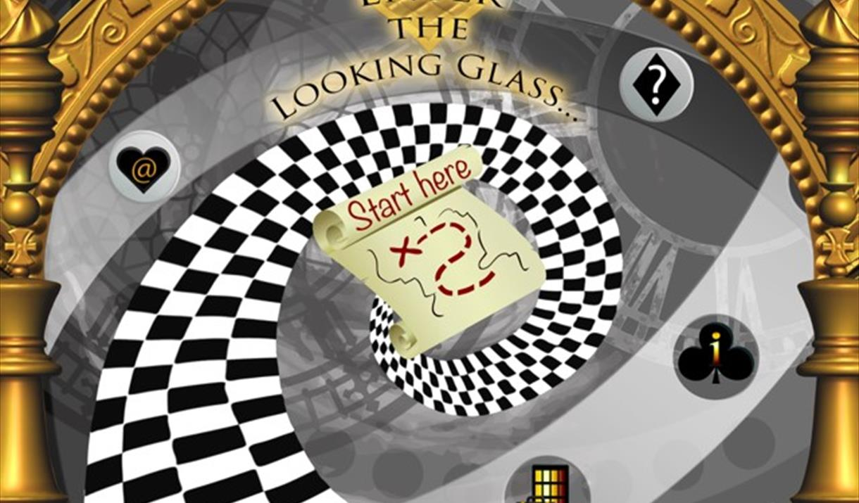 Alice in Wonderland Looking Glass App