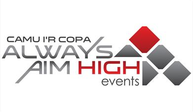 Image shows Always Aim High logo