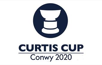 Image shows Curtis Cup Conwy 2020 logo
