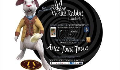 Alice in Wonderland White Rabbit App